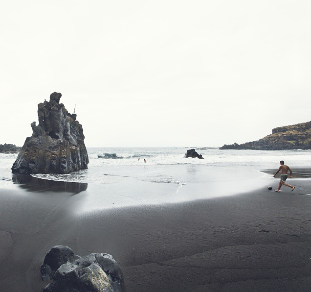 Playa del Bollullo. Foto vía Instagram: @alfonsocalza