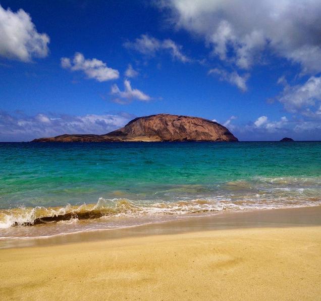 Playa de Las Conchas. Foto vía Instagram: @massimilianocastelli