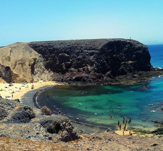Playa Papagayo. Foto vía Instagram: @mrmandarino