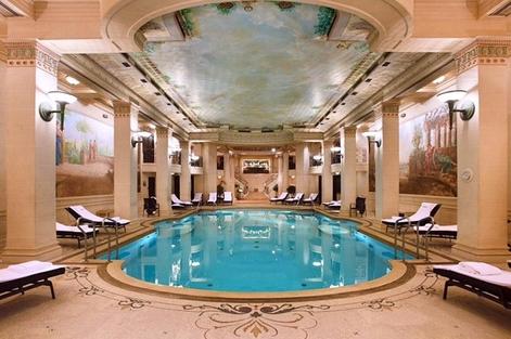 Interiores del Spa. Foto vía Instagram: @themakermag