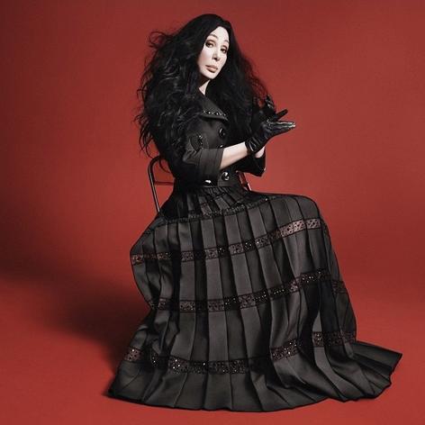 Cher, nueva imagen de Marc Jacbos. Foto vía Instagram: @marcjacobs