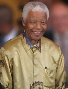 Mandela en Johannesburgo, el 13 Mayo de 2008
