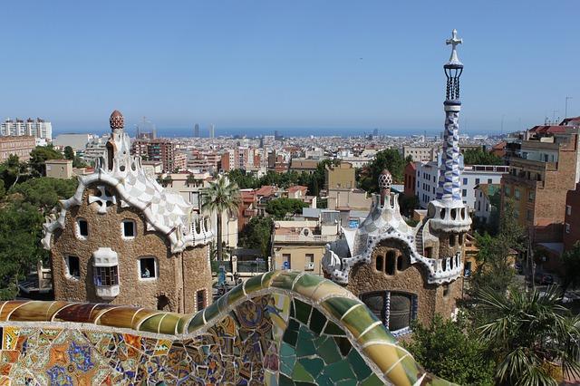 Parque Güell, una de las principales obras de Gaudí
