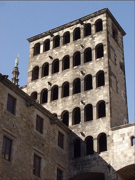 Torre Marti I, el último rey antes de la entrada de la dinastía castellana de los Trastámara. Foto: Xavier Caballé