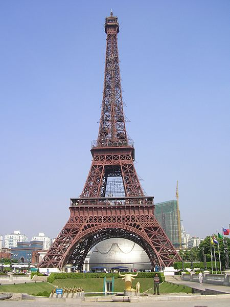 Torre Eiffel de Shenzen. Foto vía wikimedia