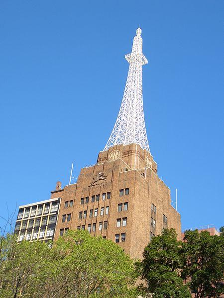 Torre Eiffel de Australia. Foto vía wikimedia