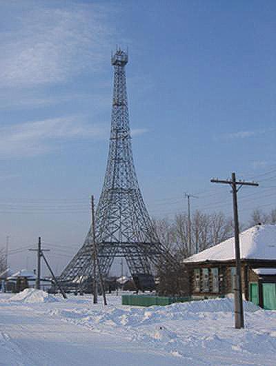 Torre Eiffel de Parizh. Foto vía wikimedia