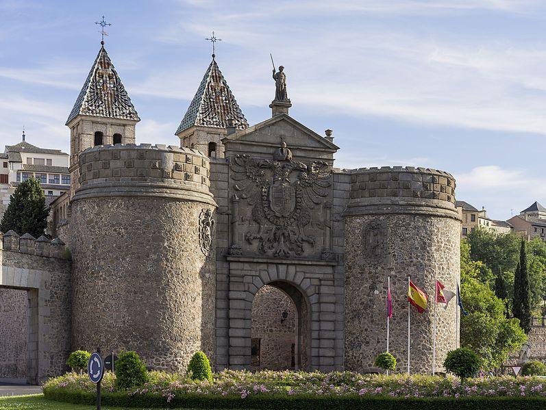 Puerta de Bisagra toledo 2014