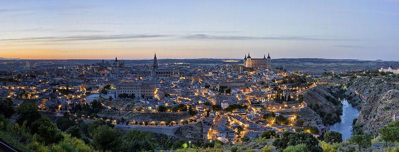 Vista panorámica de Toledo. Foto: Chensiyuan