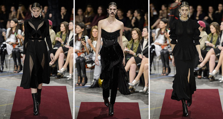 Givenchy OI 2015-16. Fotos vía Livingly