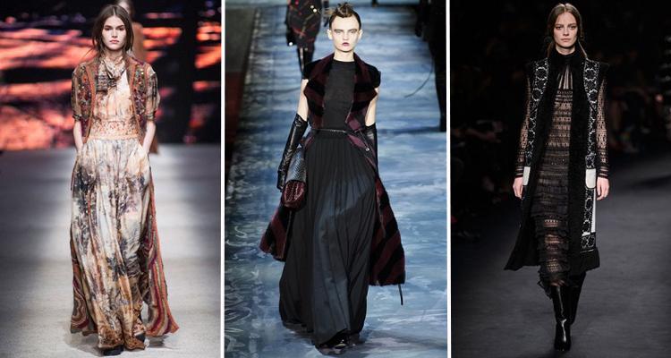 Alberta Ferretti, Marc Jacobs, Valentino OI 2015-16 Fotos vía Livingly