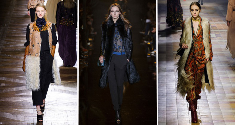Dries Van Noten, Elie Saab, Lanvin OI 2015-16 Fotos vía Livingly