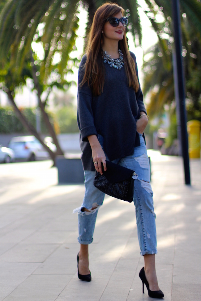 marilyns closet fashion blogger influencer boyfriend jeans ootd outftis - 6